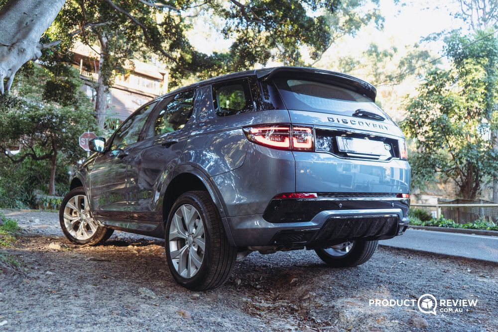 Land Rover Discovery Sport exterior off roading