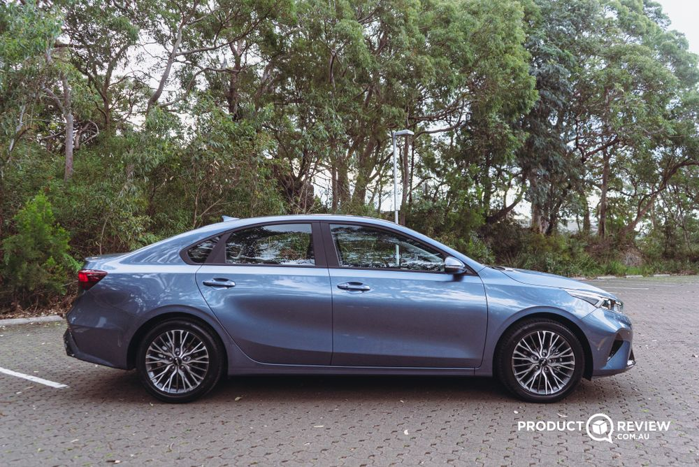 Kia Cerato from side view external