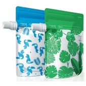 Cherub Baby Re-usable Food Storage Pouch 10PK Special Edition