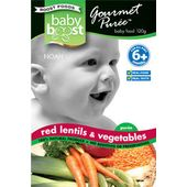 Baby Boost Red Lentils & Vegetables
