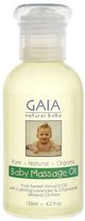 GAIA Natural Baby Massage Oil