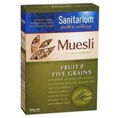 Sanitarium Muesli Fruit and Five Grains