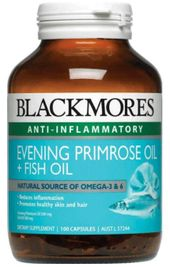 Blackmores Evening Primrose Oil + Fish Oil