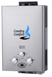 Country Comfort Portable LPG Water Heater