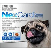 NexGard Chewables Blue (For Dogs 4.1 - 10kg)