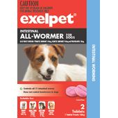Exelpet Intestinal All-Wormer For Dogs