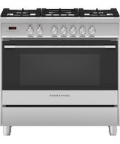 Fisher & Paykel 90cm Freestanding Dual Fuel Cooker OR90SCG1X1