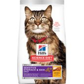 Hill's Science Adult Sensitive Stomach & Skin Cat Food