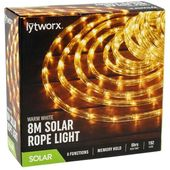 Lytworx 8m Multicolour LED Solar Rope Light