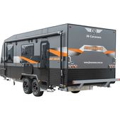 "JB Caravans Dirt Roader 20'8"" Bunk"