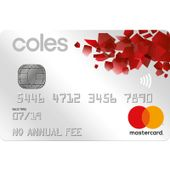 Coles No Annual Fee MasterCard