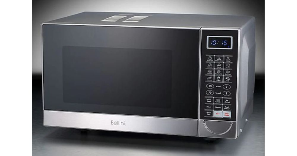 Bellini Compact Flatbed Microwave Oven Productreview Com Au
