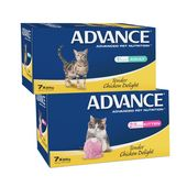 Advance Premium Wet Cat Food in a Tray