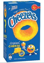 Cheezels Cheese
