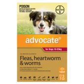 Bayer Advocate Red (Large Dog)