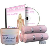 Wrap Yourself Slim European Dry Mineral Clay Complete Home Body Wrap Kit