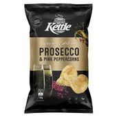 Kettle Chips Prosecco and Pink Peppercorn