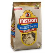 Mission Tortilla Strips White Corn