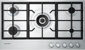 Fisher & Paykel 90cm Gas on Steel Cooktop CG905DX1