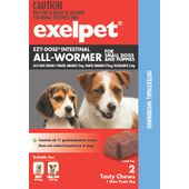 Exelpet EZY-DOSE Intestinal All-Wormer For Dogs