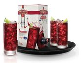 Smirnoff Vodka and Ocean Spray Cranberry / Blood Orange