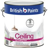 British Paints Ceiling Paint