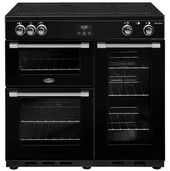 Belling CookCentre Deluxe 90cm Induction BCC900IB (Black)