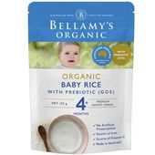 Bellamy's Organic Baby Rice