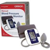 Omron Manual Inflation Blood Pressure Monitor HEM-432