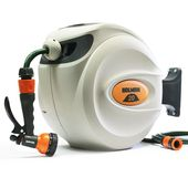Holman Auto Retractable Hose Reel with Spray Gun