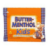 Butter-Menthol Lozenges Kids