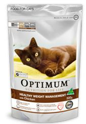 Optimum Healthy Weight Management for Cat