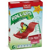 Uncle Tobys Roll-Ups Funprint Strawberry