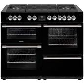 Belling CookCentre Deluxe110cm Dual Fuel Gas-Through-Glass