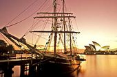 Sydney Harbour Twilight BBQ Dinner Tall Ship Experience