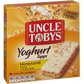 Uncle Tobys Yoghurt Topps