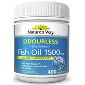 Nature's Way Fish Oil Odourless