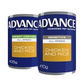 Advance Special Needs Wet Dog Food in a Can