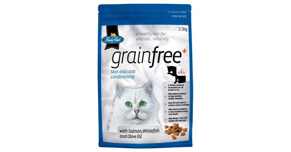 Fussy Cat Grain Free Dry Food Productreview Com Au