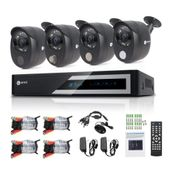 Anni 4CH Home Security Camera System