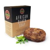 Deluxe Shea Butter African Black Soap