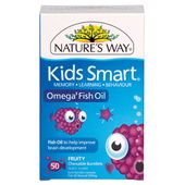 Nature's Way Kids Smart Omega 3 Fish Oil