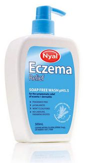Nyal Eczema Relief Soap Free Wash
