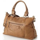 OiOi Leather Slouch Tote
