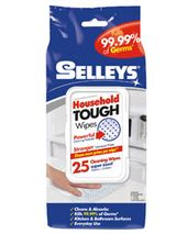 Selleys Household Tough Wipes