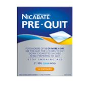 Nicabate Pre-Quit Patches
