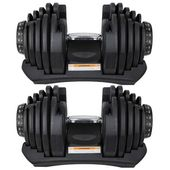 T&R Sports 40kg Adjustable Dumbbell