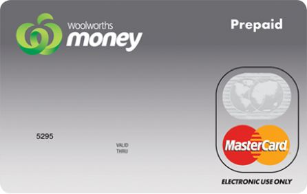 Woolworths Money Single Load Prepaid Mastercard Productreview Com Au