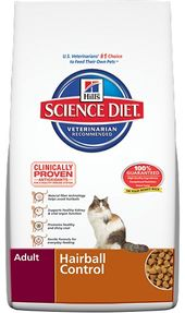 Hill's Science Diet Adult Hairball Control