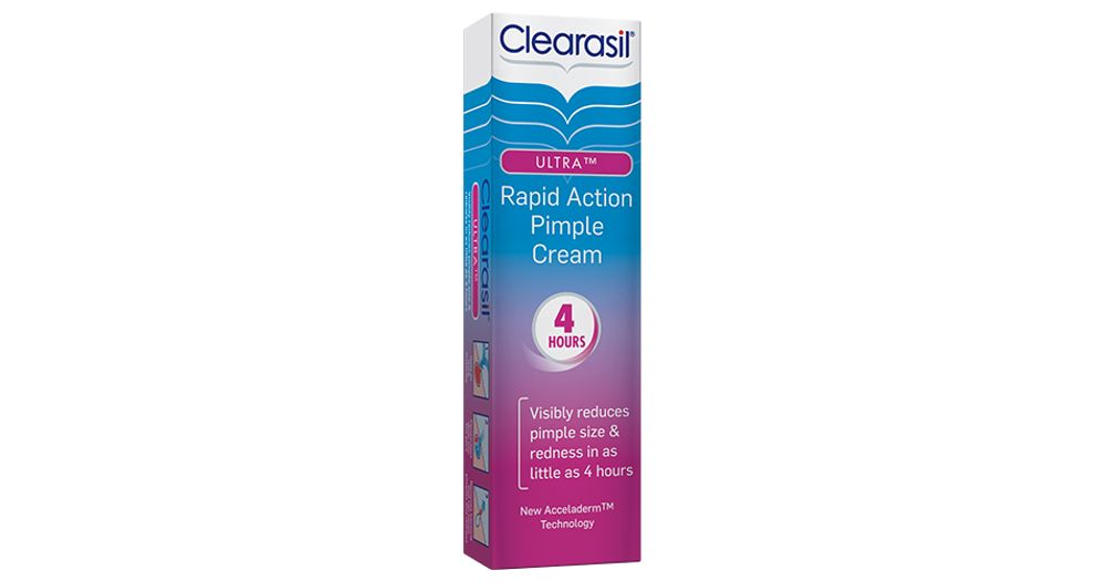 Clearasil Ultra Rapid Action Pimple Cream Productreview Com Au